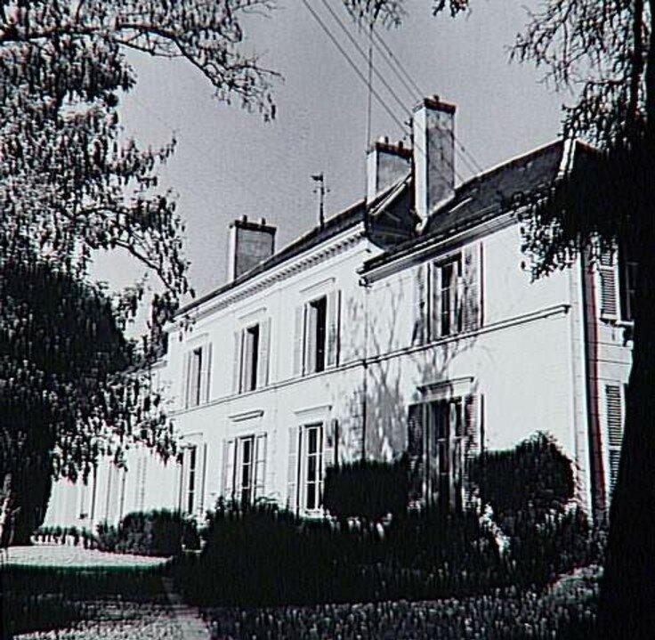 1960. Приорат в Сент-Илер, фасад (вариант)