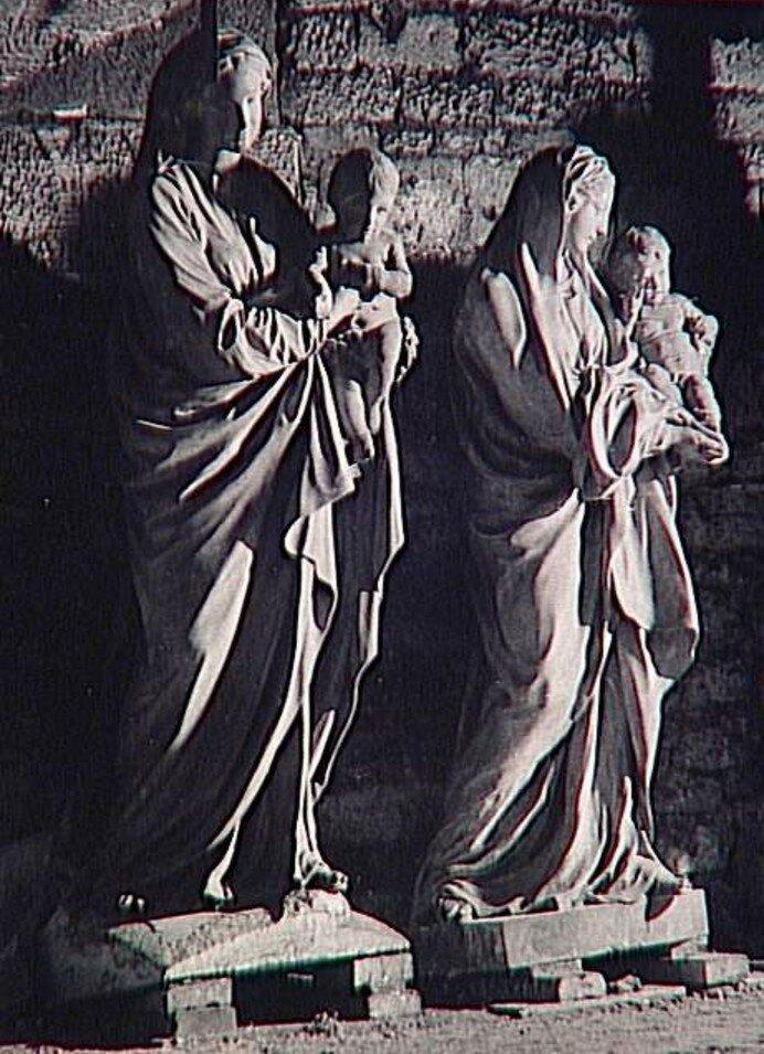 1945. Богоматерь Пигаль, подвалы Сен-Сюльпис