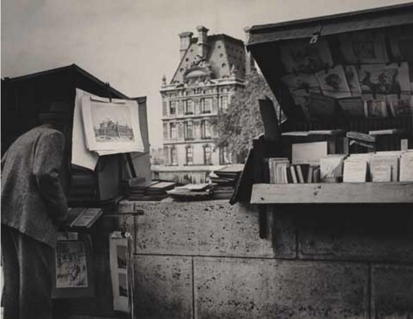 1947. Книготорговцы с набережной Вольтера