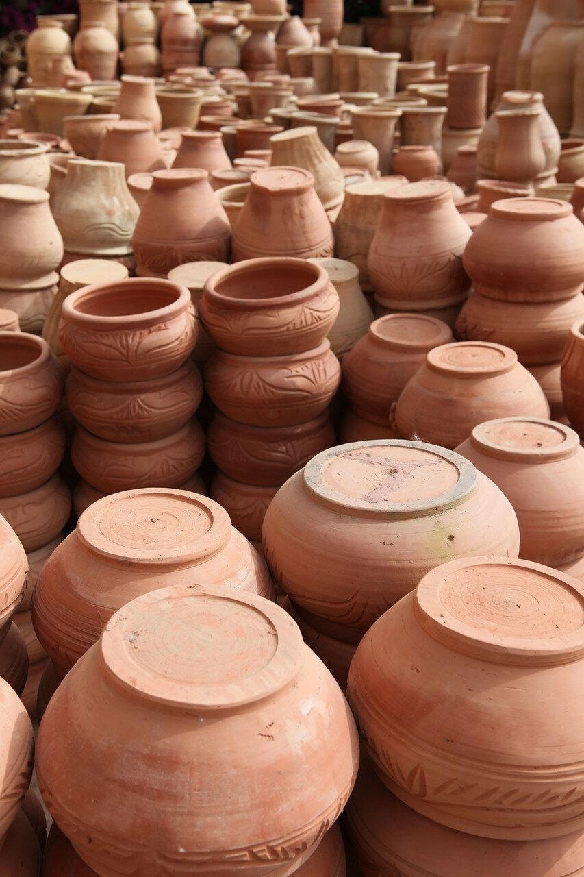 Марокко - фабрика глиняных изделий