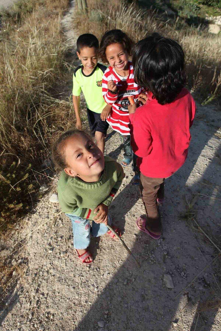 Марокко - деревня, дети