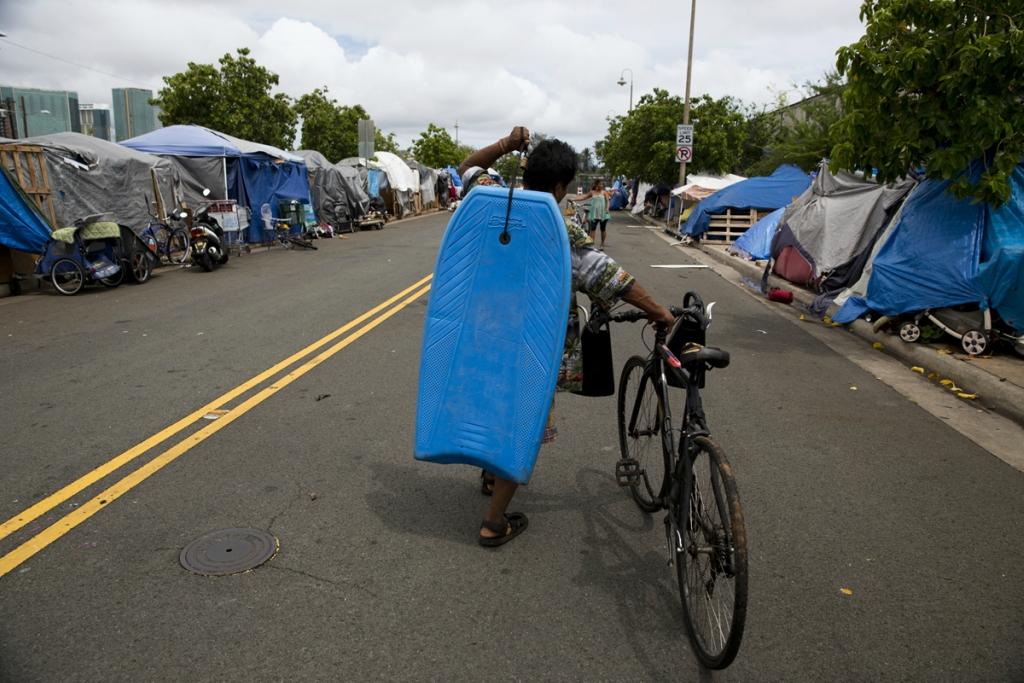 Homeless in Paradise Photo Essay