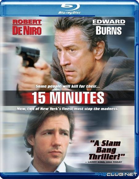 15 минут славы / 15 Minutes (2001/BDRip/HDRip)