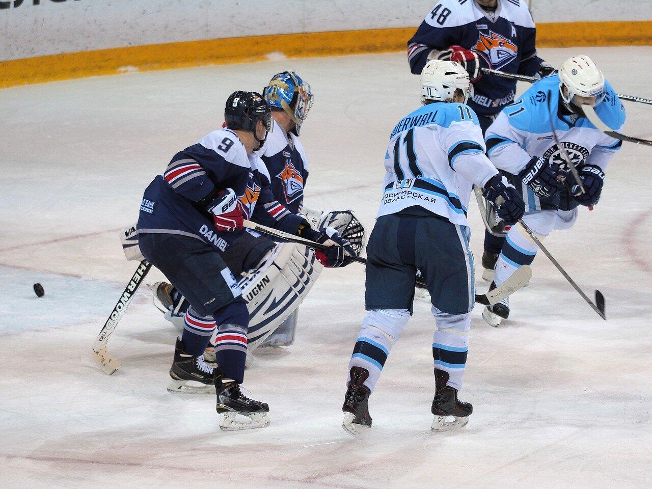 97Плей-офф 2016 Восток 1/2 Металлург - Сибирь 10.03.2016