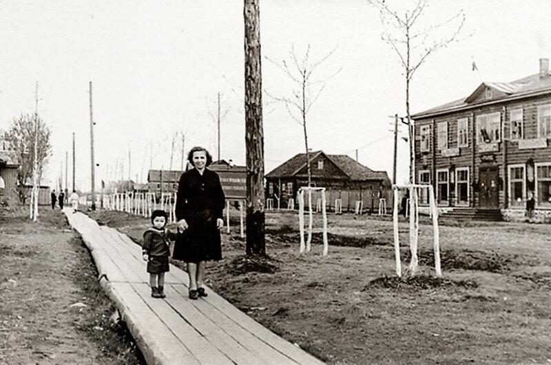 Ул. Октябрьская - 1960