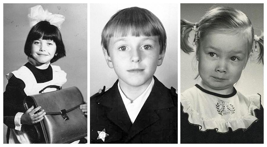 Знаменитости в детстве. Фото из домашних архивов. Часть 18