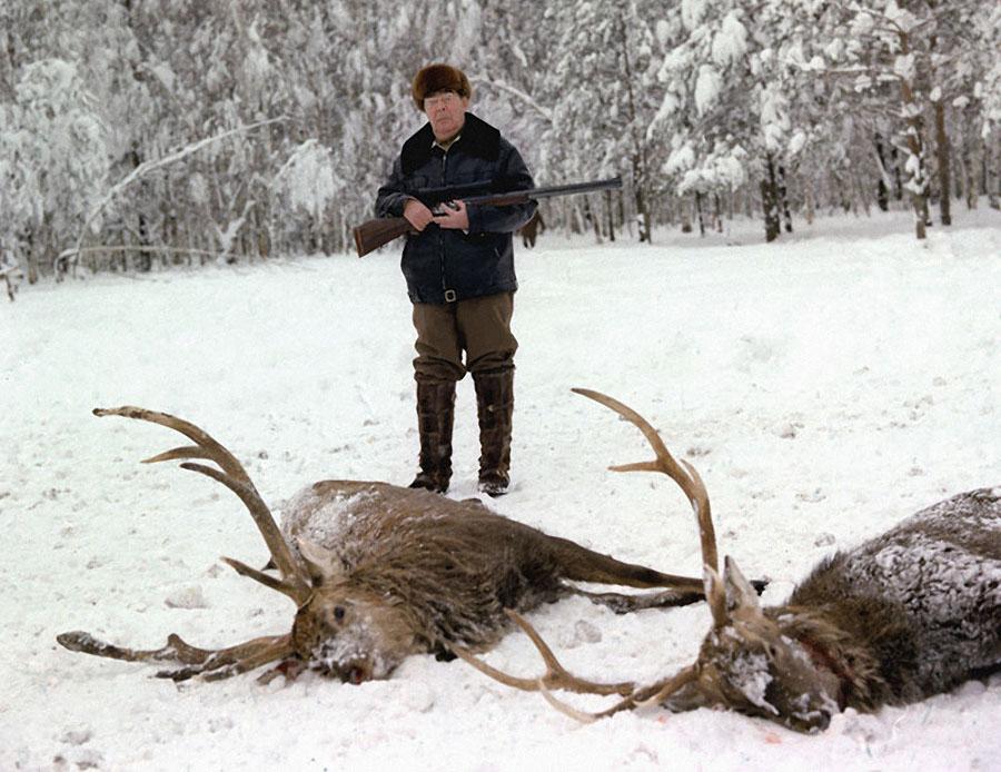 автор лучшего на выставке снимка заядлый охотник