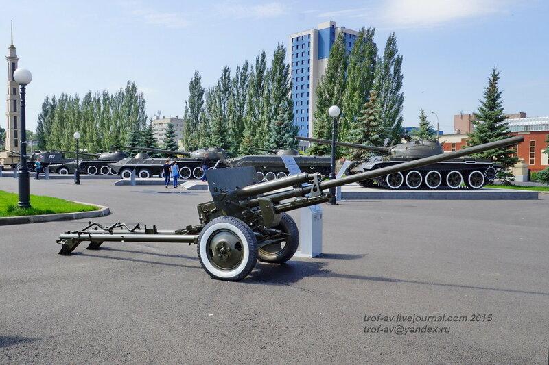 Пушка ЗиС-2, Парк Победы, Казань
