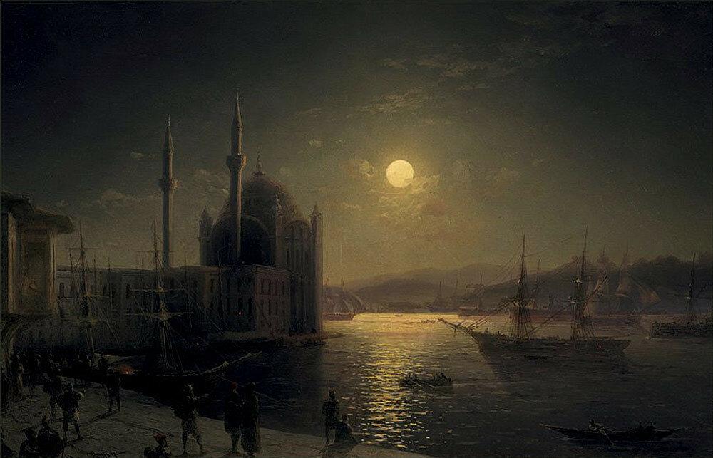Лунная ночь на Босфоре. 1894.jpg