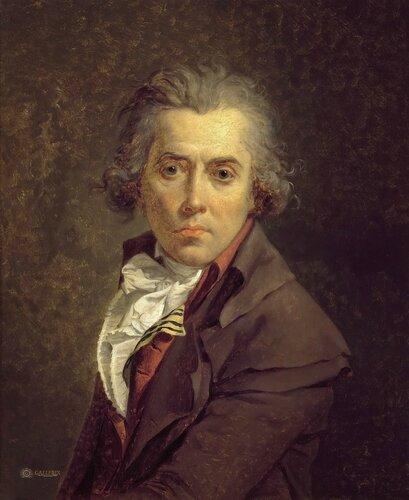 Жак-Луи Давид: Автопортрет Галерея Уффици, Флоренция (Galleria degli Uffizi, Firenze).1791. 64x53