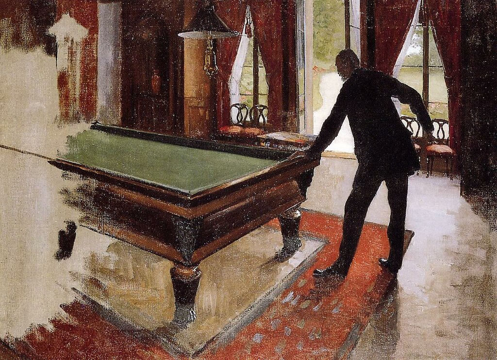 Billiards (unfinished)  -  1875 - 1876 - Private collection -  Painting - oil on canvas.jpg