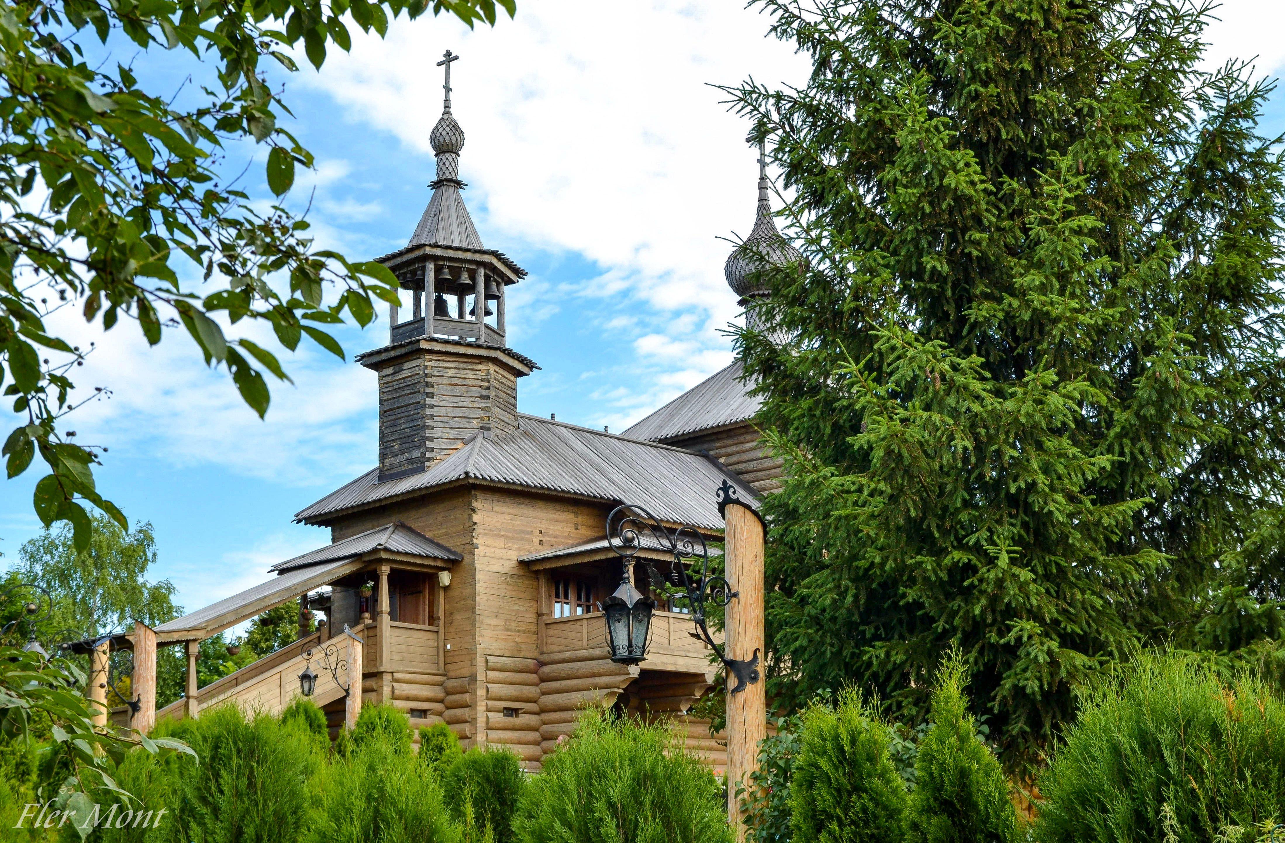 Боровск.Церковь Покрова Пресвятой Богородицы на Высоком.XVII век.