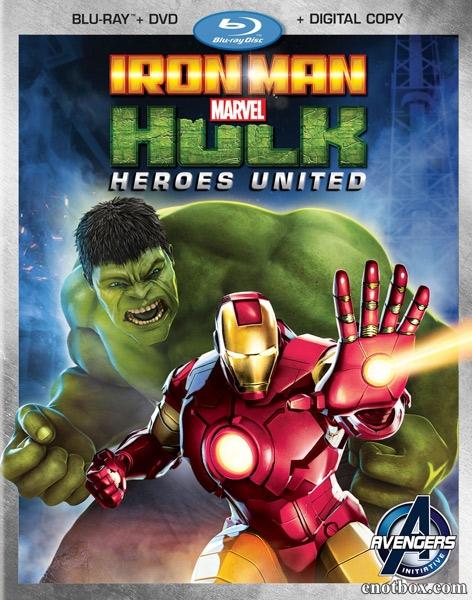 Железный человек и Халк: Союз героев / Iron Man & Hulk: Heroes United (2013/BDRip/HDRip)