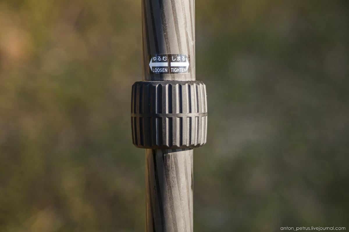 Обзор карбонового штатива Slik Pro 824CF