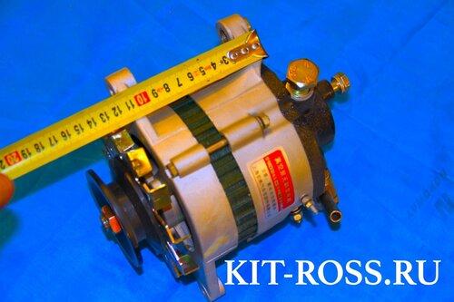 генератор 12 вольт с реле зарядки (шоколадка) модель JFWZB19 14V 1000W