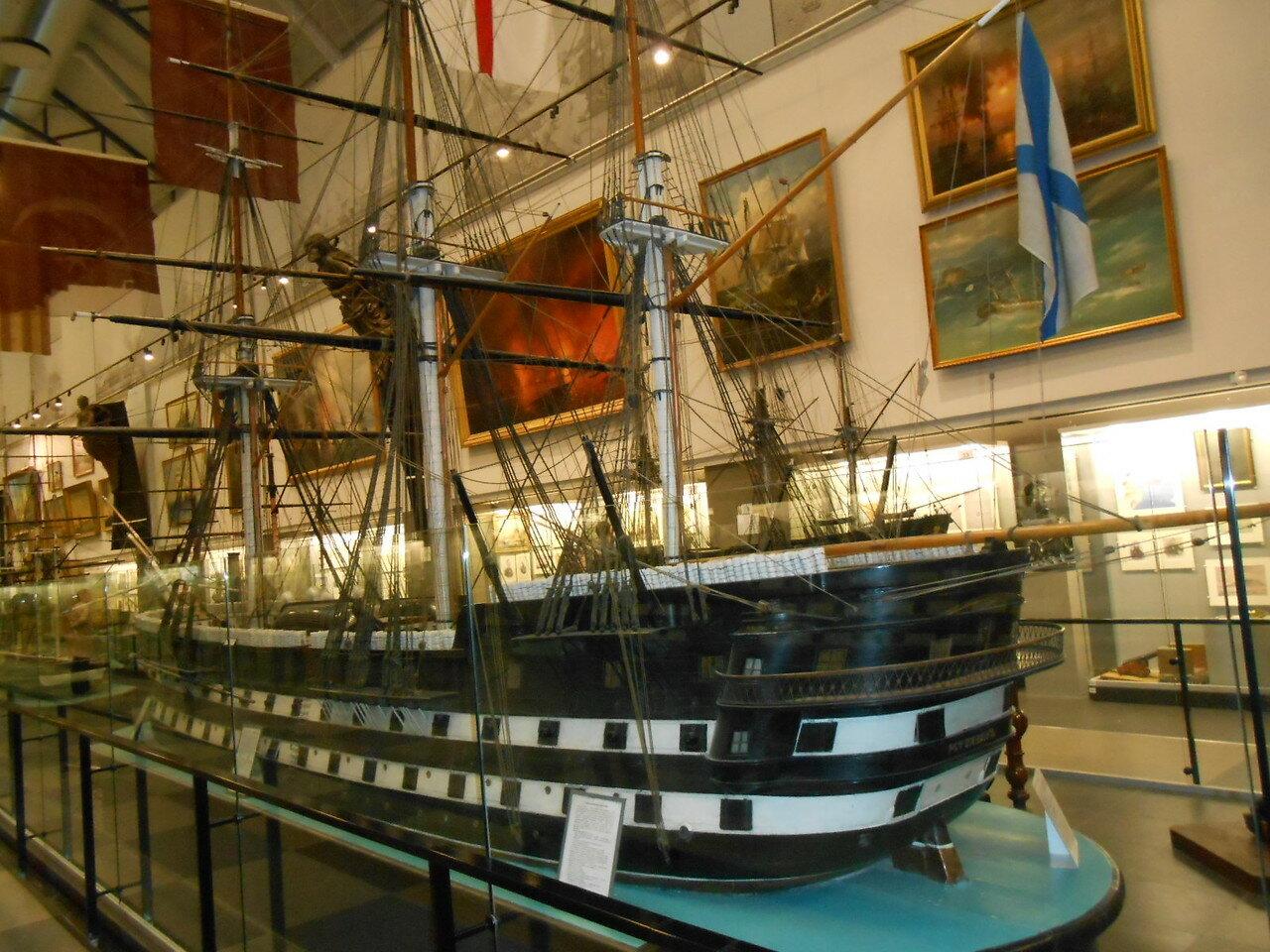 Где находиться военно морской музей
