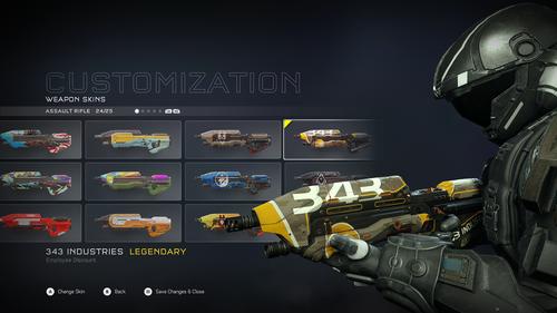 343 Industries - Штурмовая винтовка