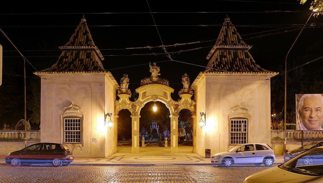 Ночная Коимбра. Парк Санта Круш (Parque de Santa Cruz)