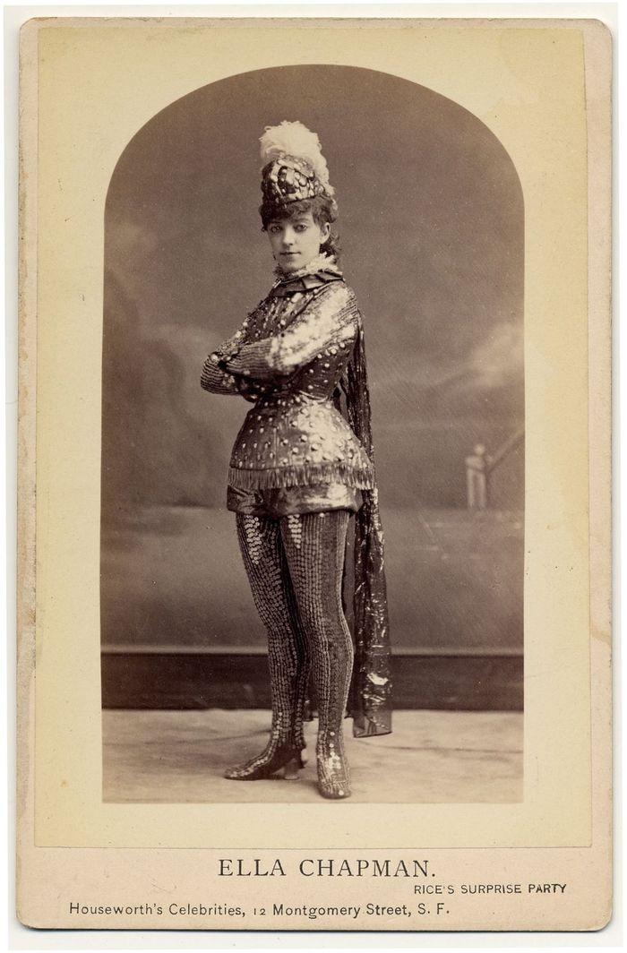 Танцовщицы бурлеска Викторианской эпохи