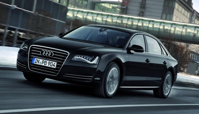 Бронированный Audi A8 Security — роскошный салон в «обертке» из стали, титана и кевлара, к