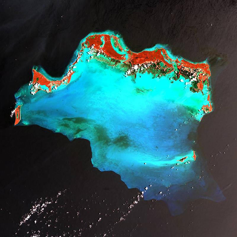 5. Острова Кайкос в северной части Карибского моря – популярное среди туристов место, известное свои