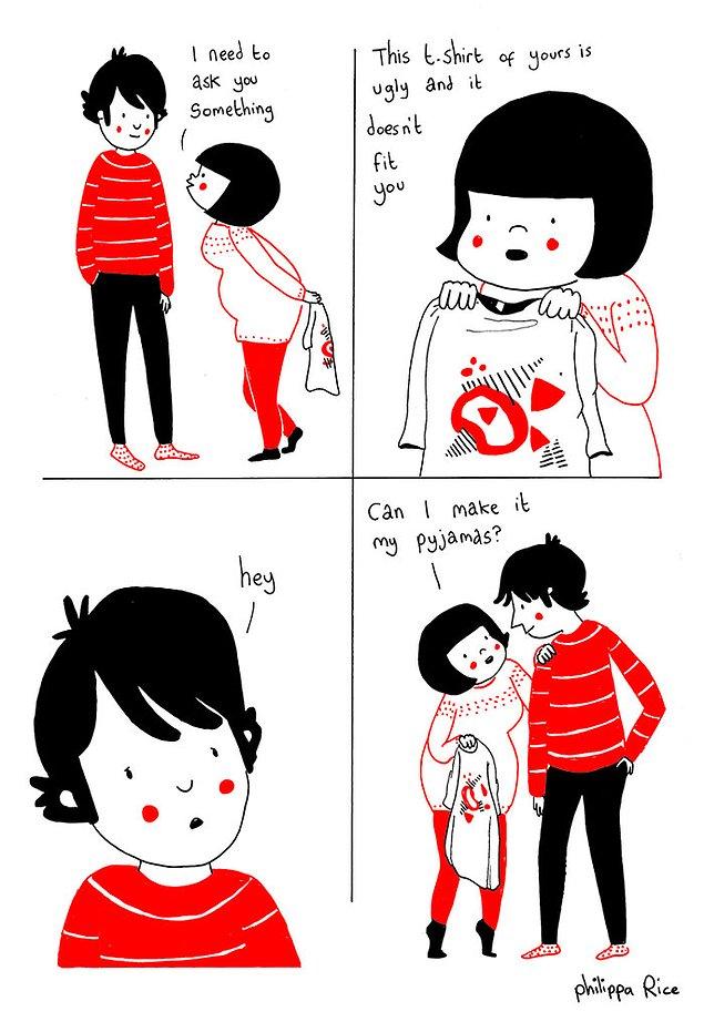 Любовь - это задать даже самый неловкий вопрос