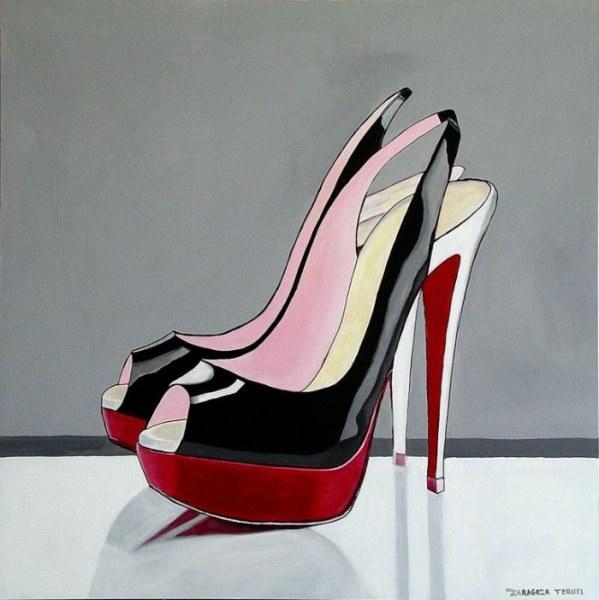 Женская мода и красота в картинах испанской художницы