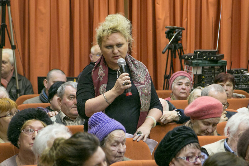 Глава Красногорского района Михаил Сапунов встретился с жителями деревни Путилково