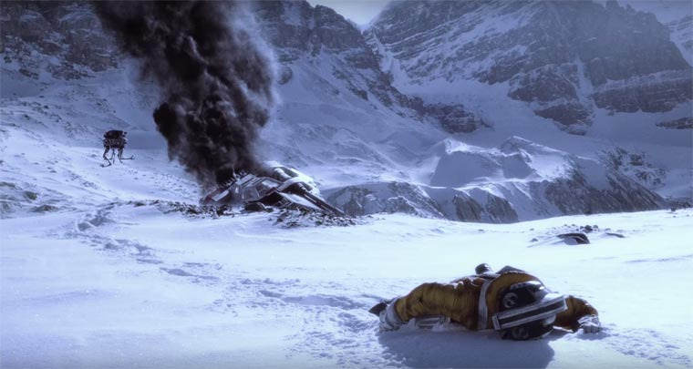 Star Wars Rebel Scum - This beautiful short film takes us back on Hoth, the frozen planet