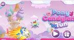 Маленькая Пони бега в стране сладостей (pony candy)