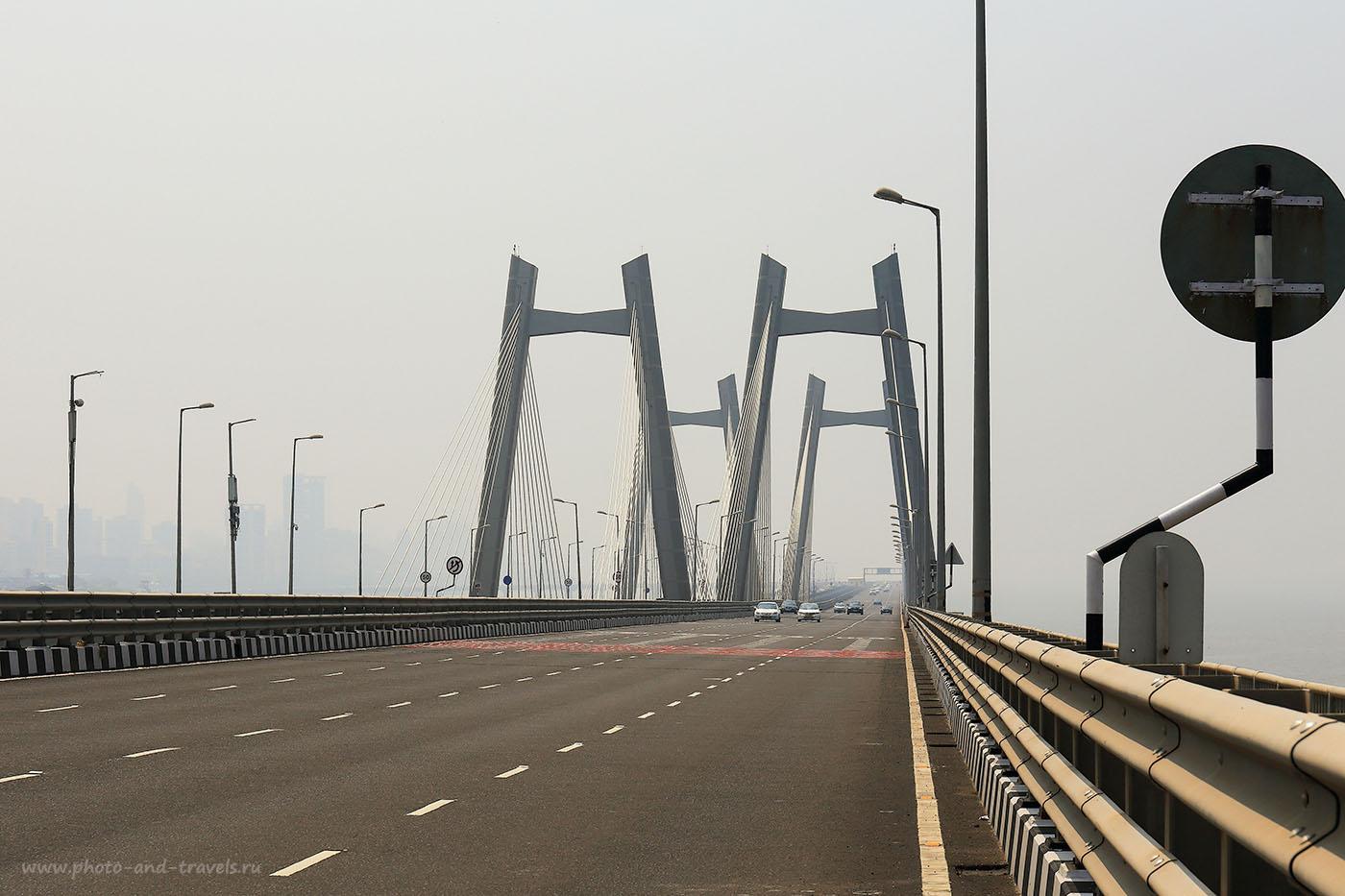 Фотография 2. Морской мост Бандра-Ворли. Отзывы об экскурсиях в Мумбаи самостоятельно во время путешествия по Индии (24-70, 1/1000, 0eV, f9, 70 mm, ISO 100)
