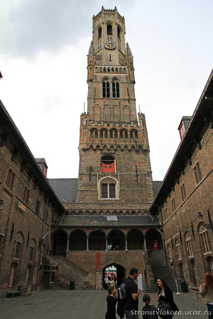 Бельгия, Брюгге, вечевая башня Белфорт