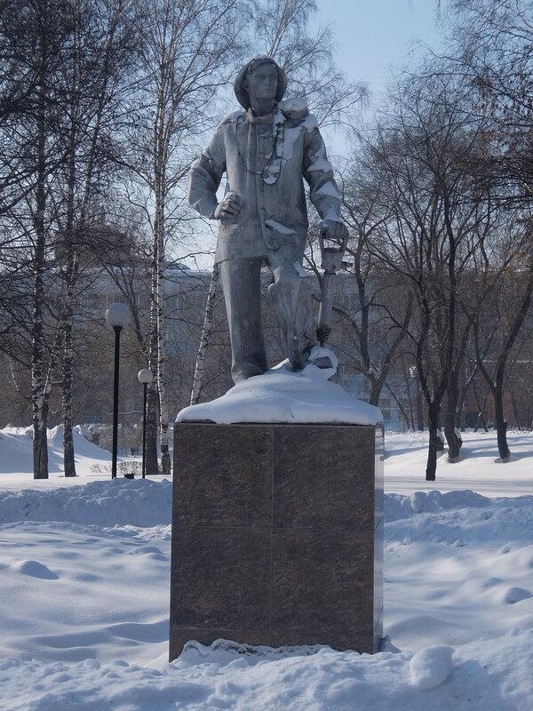 Киселевск - Памятник шахтеру