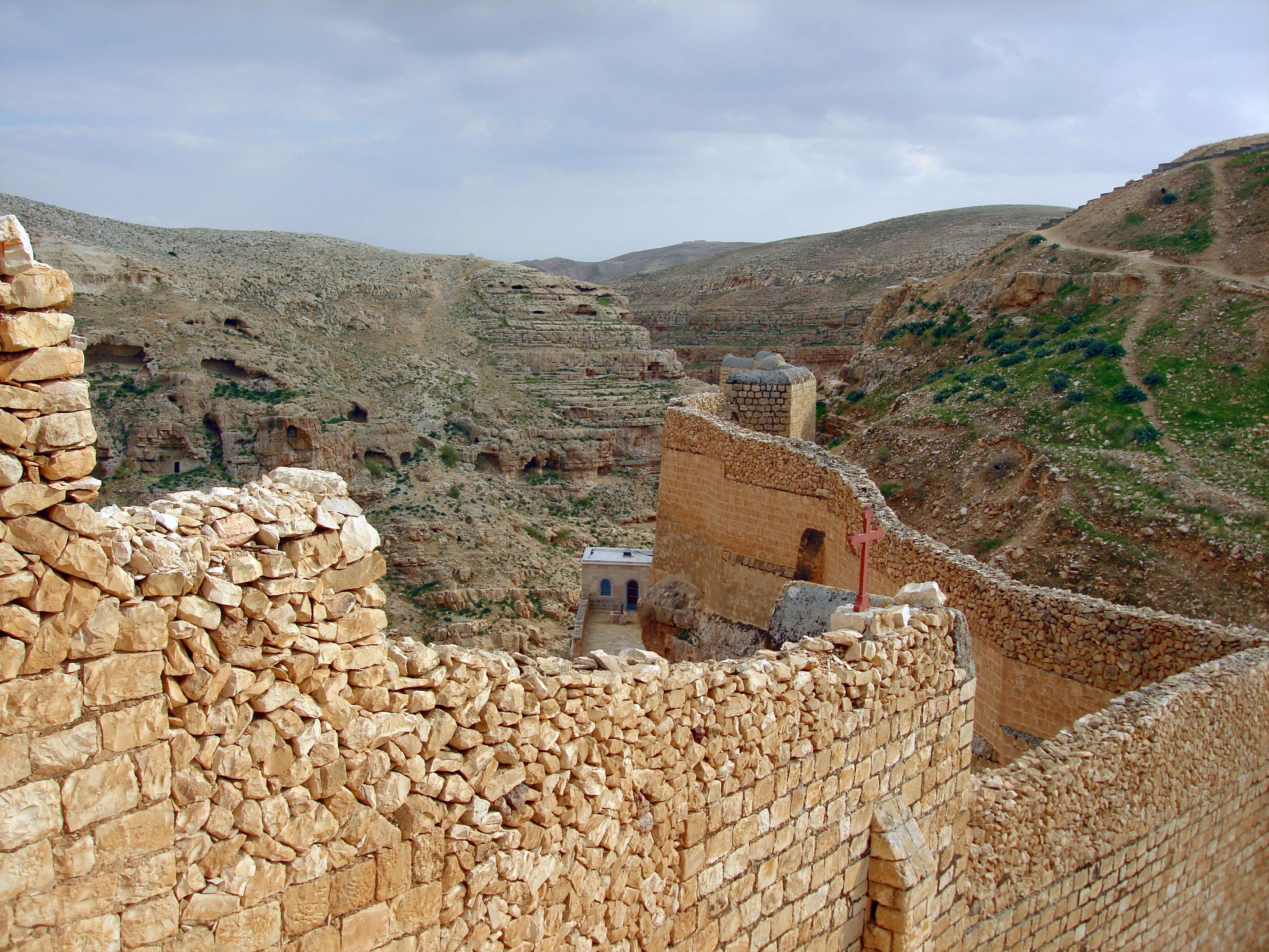 Святая Земля, монастырь Саввы Освящённого