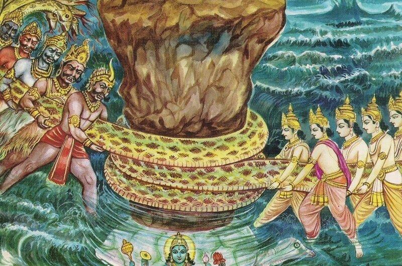 второй аватар Вишну Курма