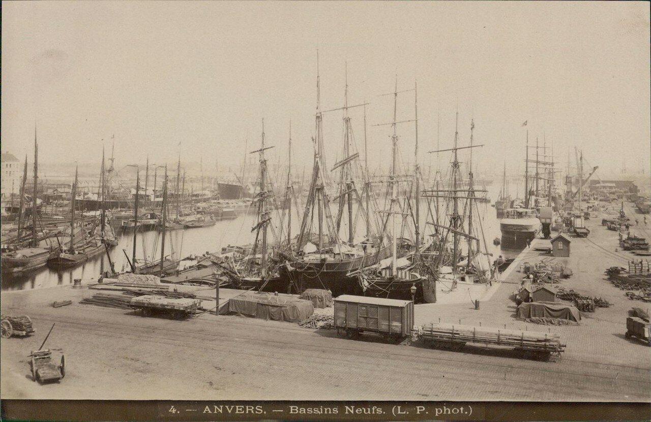 1875. Новая внутренняя гавань.