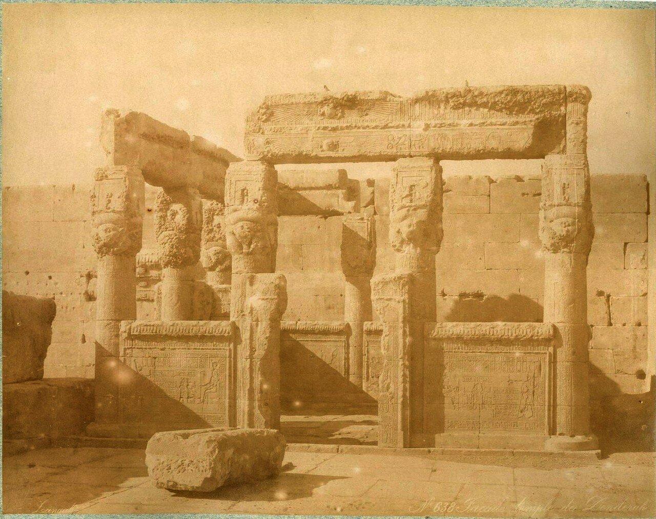 1880-е. Фасад и терраса храма