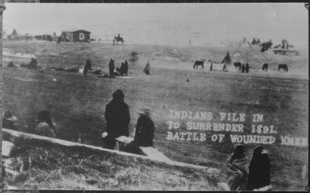 1891. Вид выживших в резне. 1 января