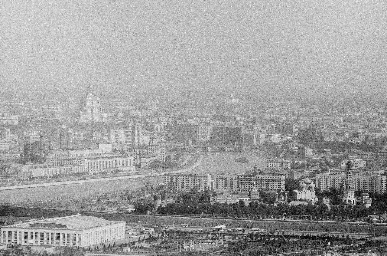 27. Панорама Москвы со здания МГУ