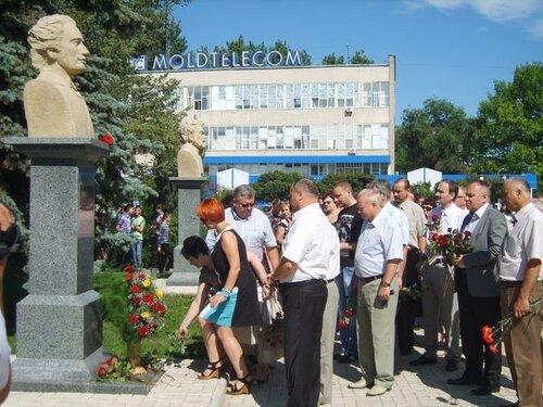 В день памяти Михая Еминеску в Бельцах возложили цветы