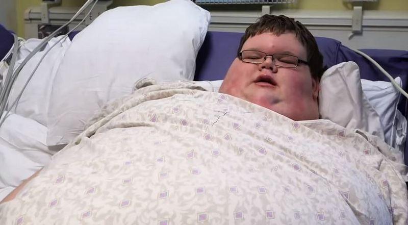 В 15 лет подросток весил 321 килограмм