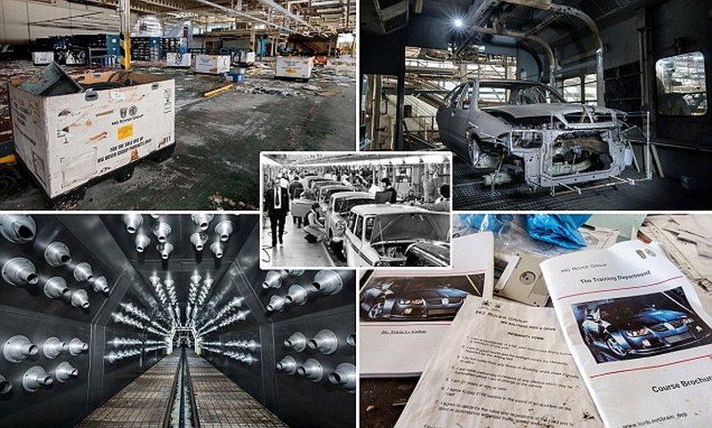 Заброшенный автомобильный завод Longbridge MG Rover