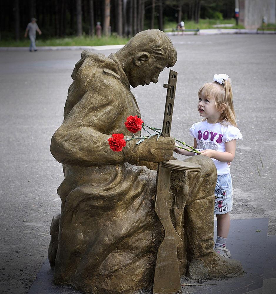 День Победы Дети Память о погибших