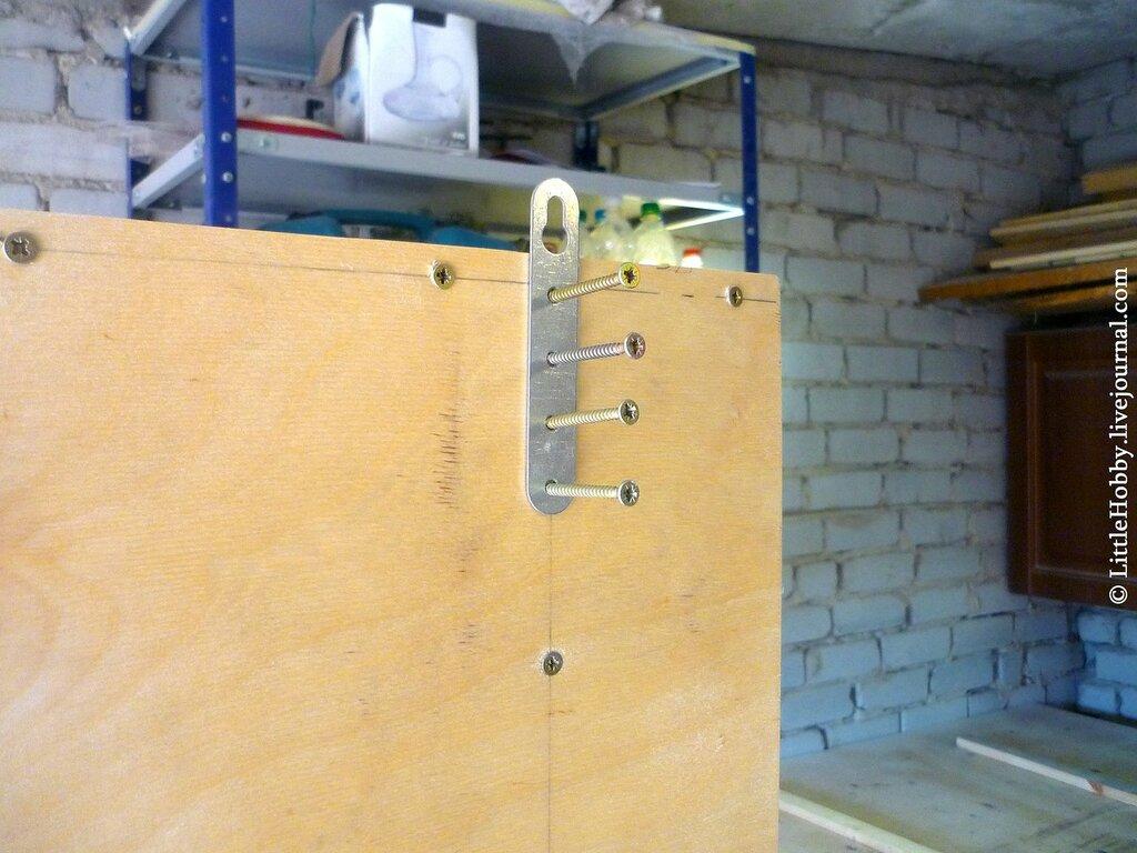Шкафчик в стене своими руками