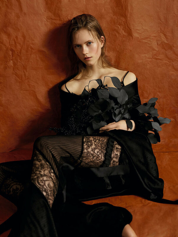 Julie Hoomans by Ben Toms for Vogue China May 2016