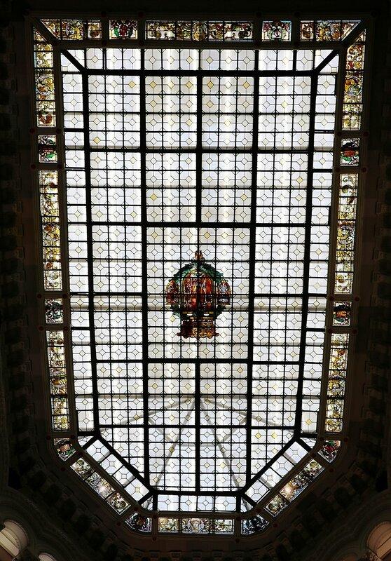 Мадрид. Дворец Связи (Palacio de Comunicaciones). Интерьеры