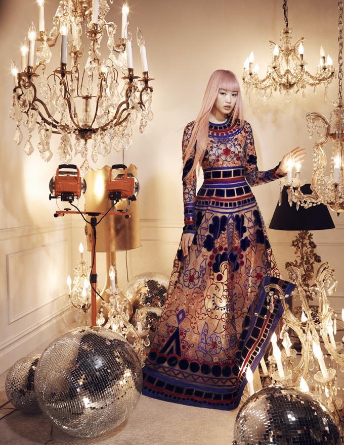 Фернанда Ли для Bergdorf Goodman Magazine