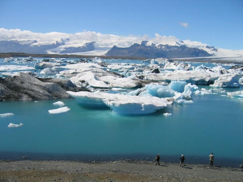 Самые красивые крупнейшие ледники мира: Йокульсарлон, Исландия