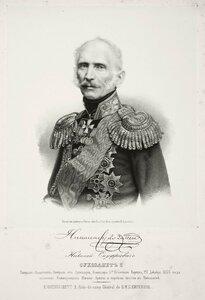 Николай Онуфриевич Сухозанет, генерал-адъютант, генерал от артиллерии