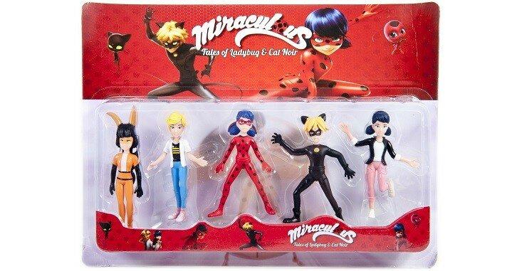 игрушки из мультфильма Леди Баг и Супер Кот